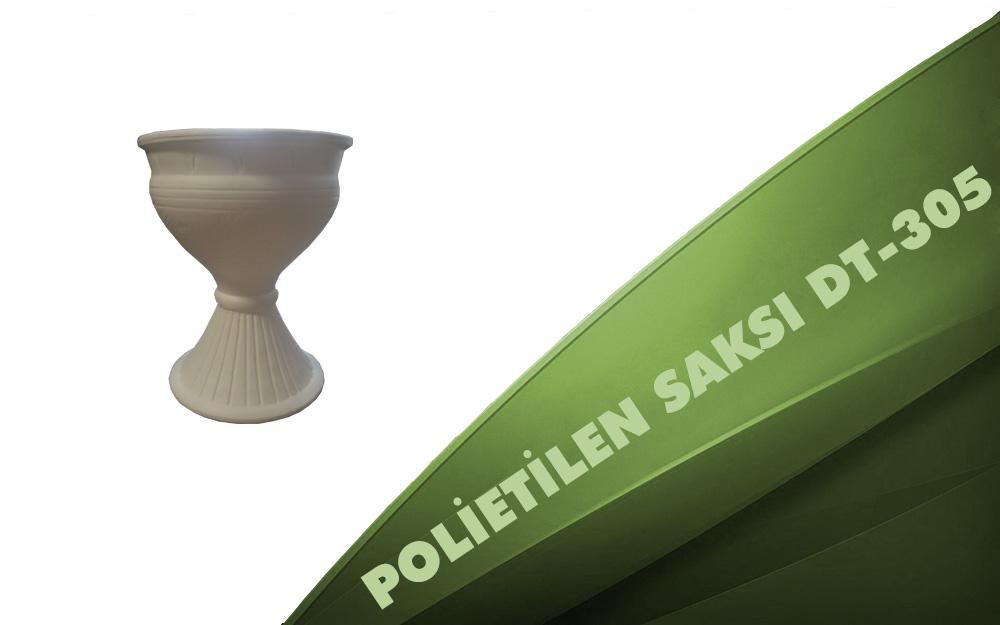Polietilen Saksı DT-305