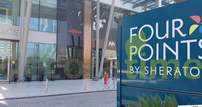 Four Points By Sheraton Fiber Saksı Uygulaması
