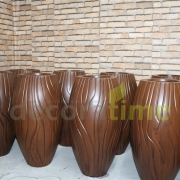 fiber büyük dekoratif saksılar